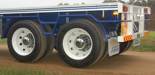 Tag Trailer Wheels and Hubs