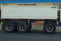 Australian made 3 axle dog trailer with body