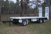 3 Axle Dog Trailers