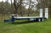 Bogie axle Tag Trailers