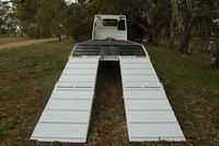 Custom Built Truck Tray with Ramps