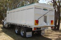Grain Bin built for Truck Tray