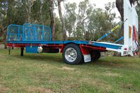 Single Axel Tag Trailers
