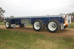 Australian Made 3 Axle Dog Trailer