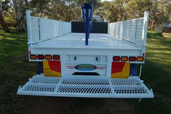 Australian Made Three  Axle Dog Trailer