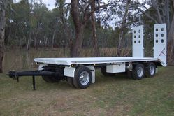 Austalian Made North Star Drill Rod Trailer