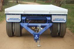 Blue North Star Drill Rod Trailer