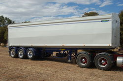 Grain bodies Semi Tippers