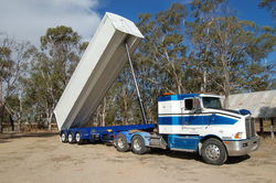 Hardox Grain Semi Tippers