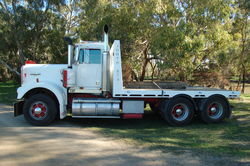 Kenworth W Model Truck Tray