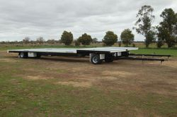 North Star Australian Made 2 Axle Dog Trailer