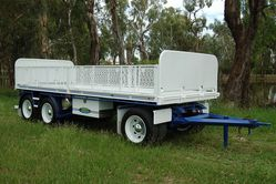 North Star Australian Made 3 Axle Dog Trailer