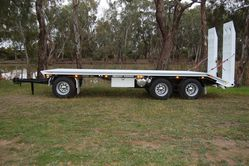 North Star Blue Drill Rod Trailer