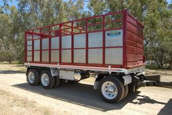 North Star Three Axle Dog Trailer
