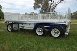 North Star  3 Axle Dog Trailer