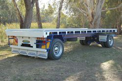 Two Axle Dog Trailer