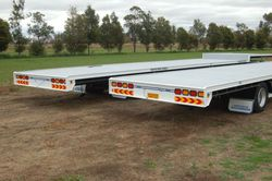 Australian Made 2 Axle Dog Trailer